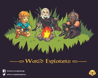 World Explorers by Geekydog