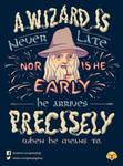 The Late Pilgrim by Geekydog