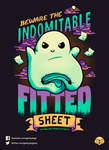 The Indomitable Fitted Sheet // Vote it on Qwertee by Geekydog