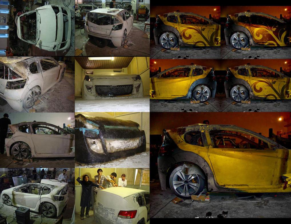 Hybrid Car Iran