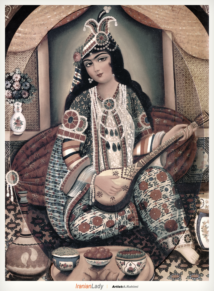 Persian beauty painting