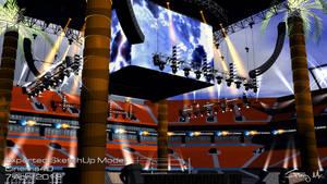 WWE WrestleMania 28 Arena (Day)
