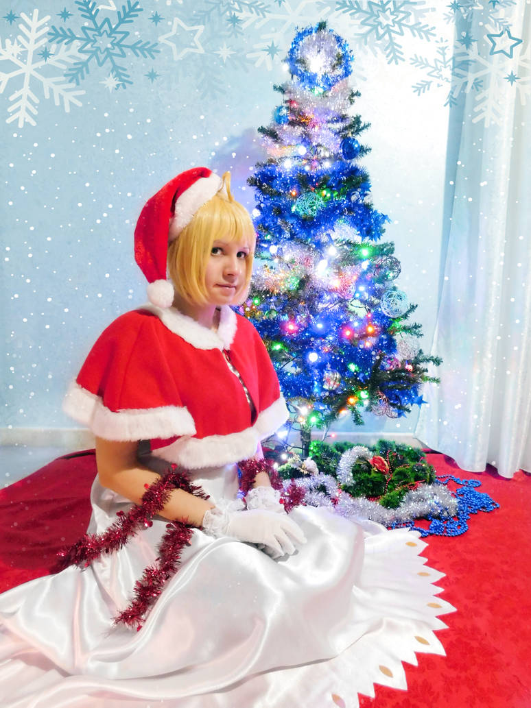 Fate/Stay Night - Saber Christmas 2017 [1]