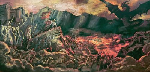 Shingeki no Bahamut Virgin Soul Painting