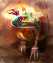 Fire creature by ANIdiPodichi