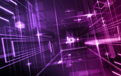 Purple Glass Wallpaper