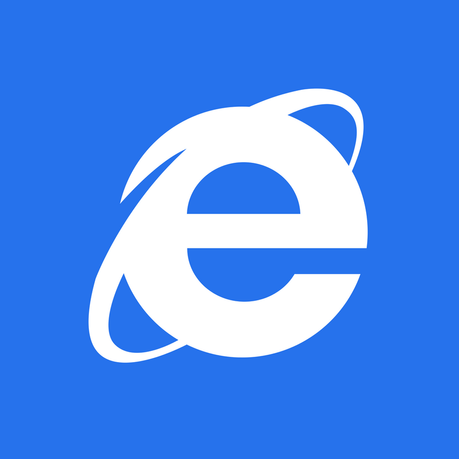 Internet Explorer METRO TILE - 2000px by dAKirby309