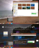 Windows Explorer Concept 2.0 v1 by dAKirby309