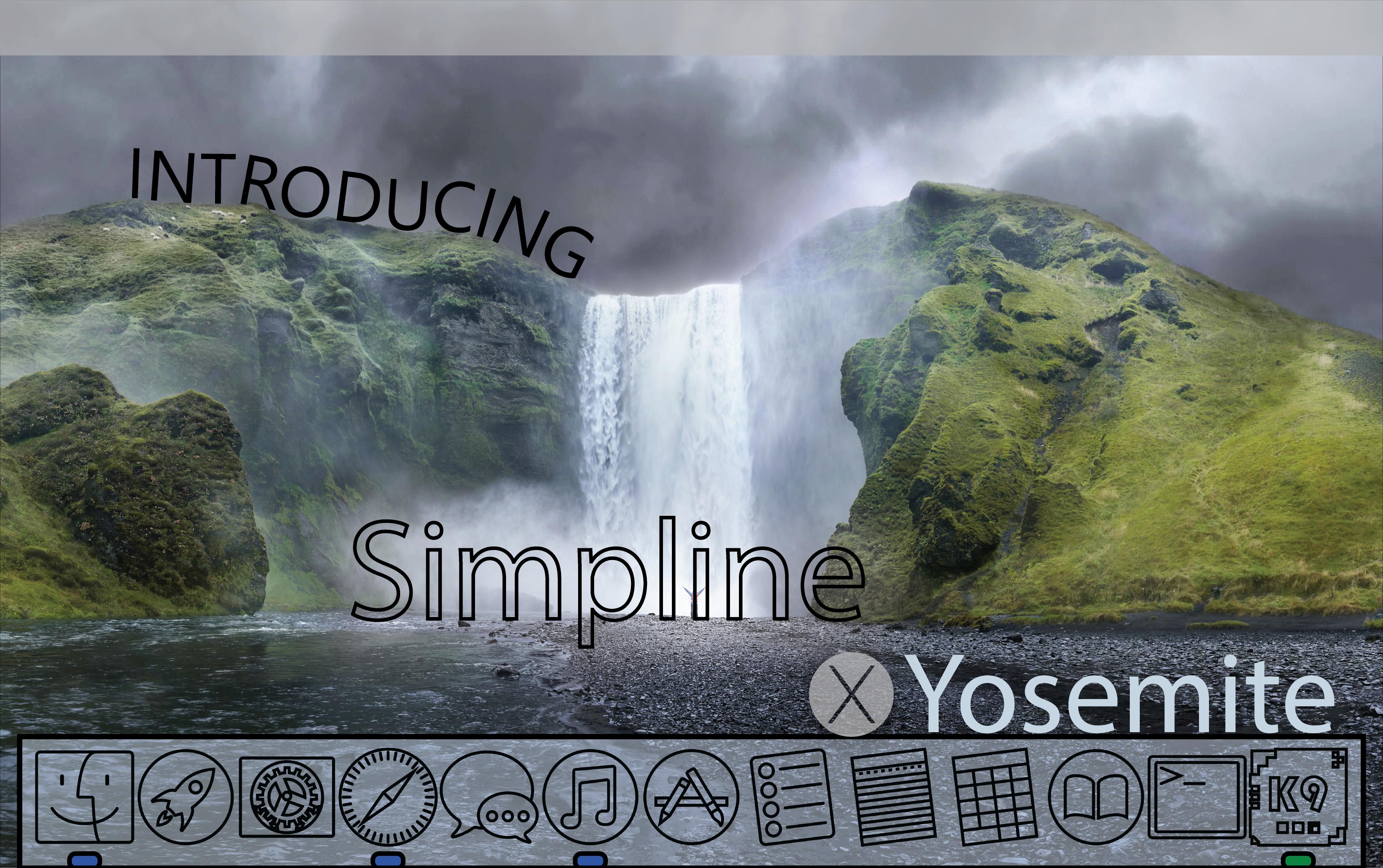 SIMPLINE ICON SET OS X Yosemite - Coming Soon?