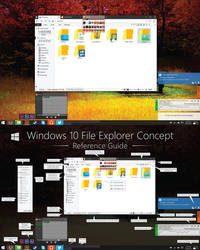 V1 Windows 10 File Explorer Concept (HD)