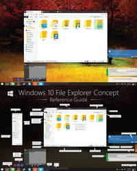 V2 Windows 10 File Explorer Concept (HD)