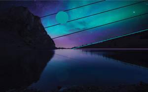 Aurora Nightfall - Design Wallpaper 2 by dAKirby309