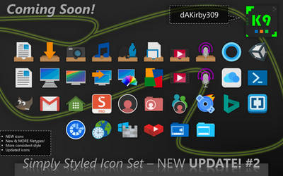 UPDATE PREVIEW #2 - Simply Styled Icon Set