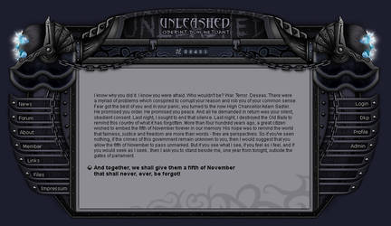 World of Warcraft Guild Page