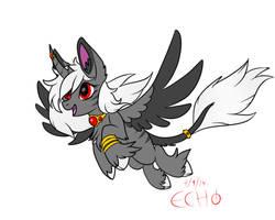 Dark Queen adopt by EchoJellyMutt