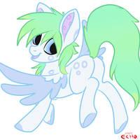 Pastal pony adopt by EchoJellyMutt