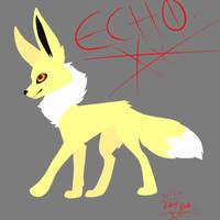 ECHO jolteon by EchoJellyMutt