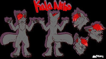 Kala ref 2019 (n background) by EchoJellyMutt