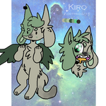 Kiro reference sheet