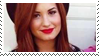+Demi Lovato Stamp #001 by aPrincessHigh