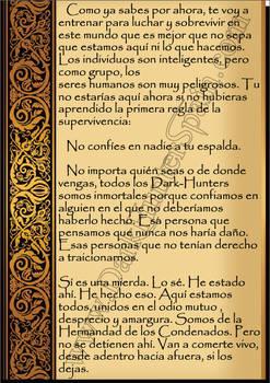 Pag 2 Carta Bienvenida de Aqueron Parthenopaeus