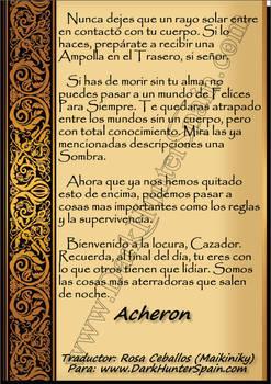 Pag 6 Carta Bienvenida de Aqueron Parthenopaeus