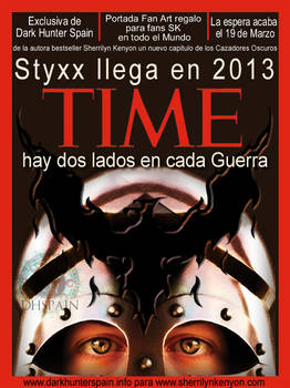 Fan Art: Styxx en la portada de la revista Time