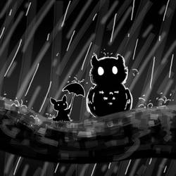 Inktober - Day 29: Stormy Night