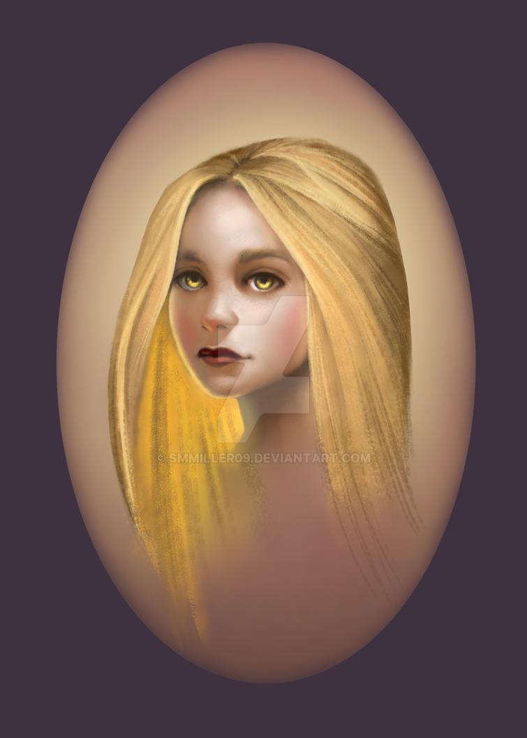 fantasy portrait practice by smmiller09