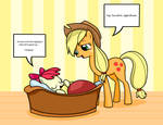 [Request] Applejack and Apple Bloom
