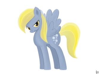 [My Little Pony] Serious Derpy Hooves by Frank-Seven