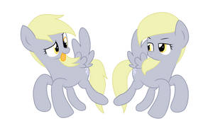 [My Little Pony] Derpy and Smarty Hooves