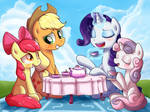 [Request] Sisterly Tea Party