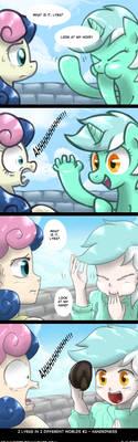 [My Litt Pony] 2LI2DW - Handedness