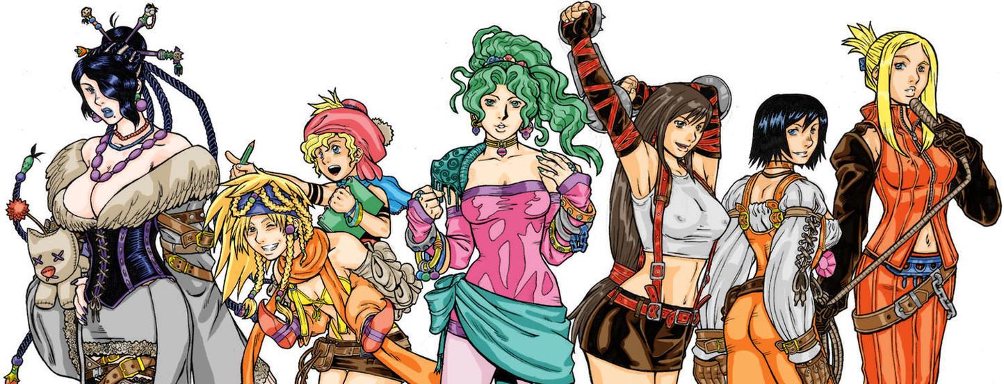 Final Fantasy Girls By Randymonki On Deviantart
