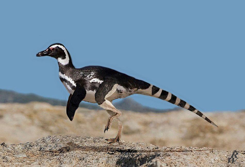 Penguinosaurus by Dwarf4r