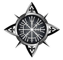 Vegvisir compass tattoo