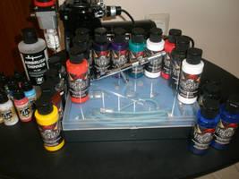 My airbrush set