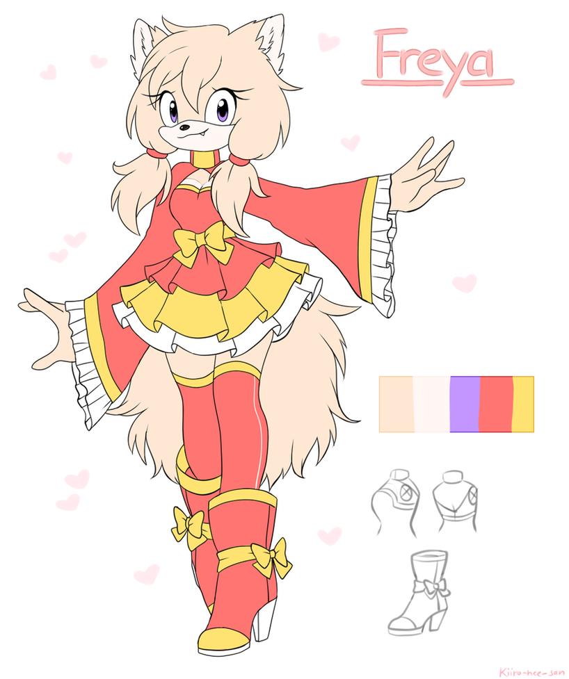 Freya the pomeranian spitz by Kiiro-nee-san