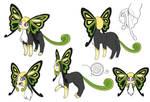 New Eeveelution / Bug Type (fan made) - Concept