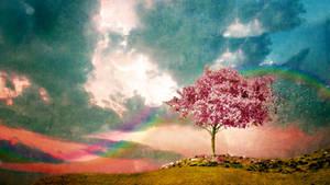 Evening Star - The Pink Fields by PonyEveningStar