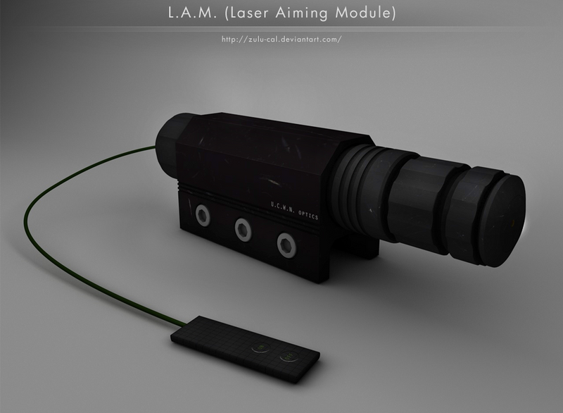 LAM - laser aiming module - 2 by ZULU-CAL