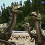 Qantassaurus Sparing by 2195Razielim