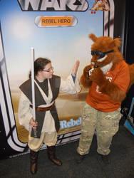 Supanova 2015 Squirrel With A Jedi Cosplay 2