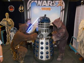 Supanova 2015 Jawas, Jedi, Dalek Cosplay