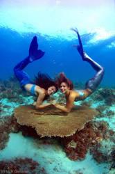 Mermaids by underwatermeister
