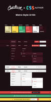 FREEBIE: Flat Metro Style UI Kit on CSS Author