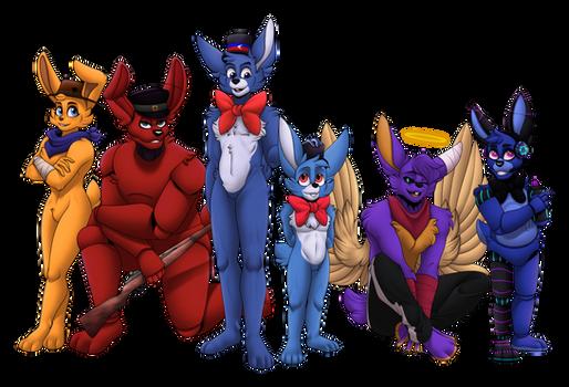 Commission- Rabbits