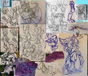 -Doodle Dump #3- Feb 2020