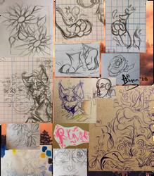 -Doodle Dump #4- March 2020